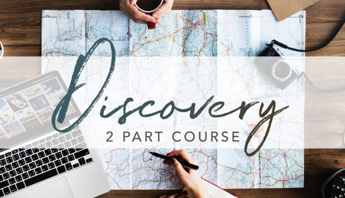 Discovery 2 Part Course Banner - Photo of Map and Journey Planning