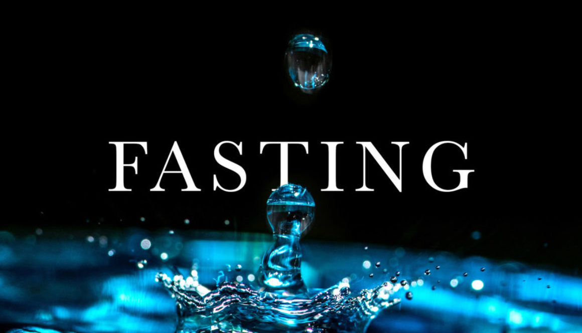 Fasting Banner - Picture of Water Splash