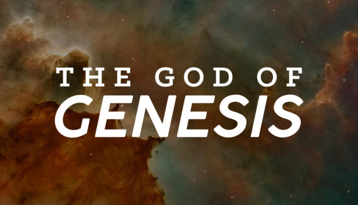 God of Genesis Banner